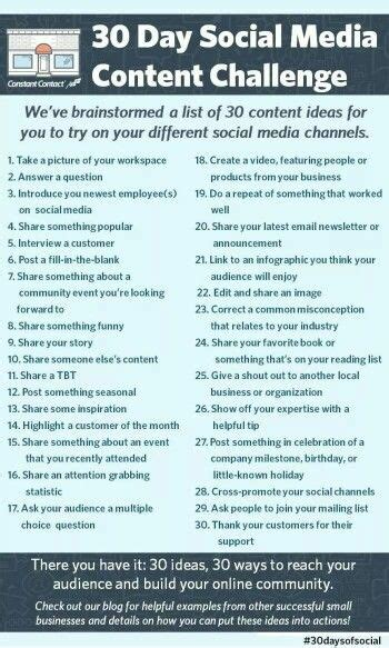 Social Media Calendar Ideas – task list templates