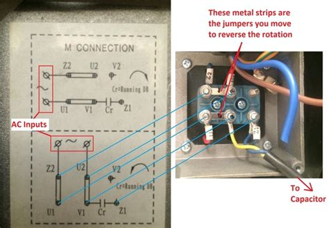 how to the rotation of single phase 220v motor quora