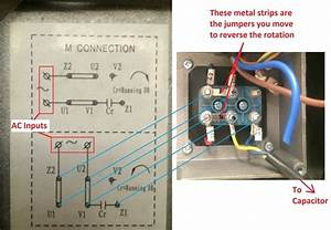 How To Reverse The Rotation Of Single Phase 220v Motor