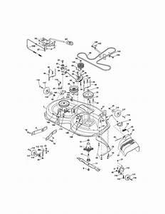 Craftsman Model 917288517 Lawn  Tractor Genuine Parts