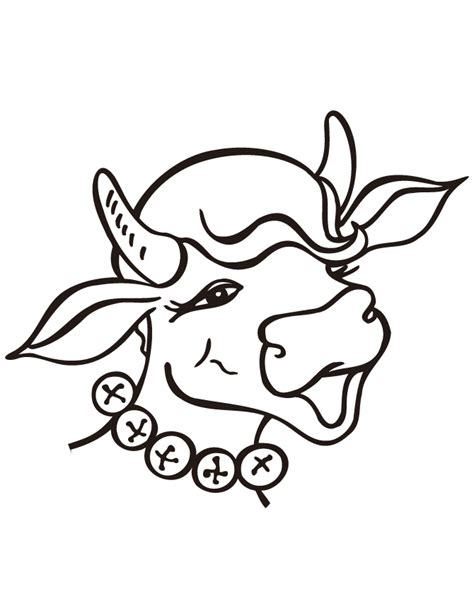 Coloring Easy by Animal Cow Simple Coloring Page H M Coloring Pages