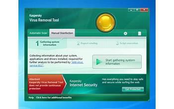 Kaspersky Virus Removal Tool screenshot #0