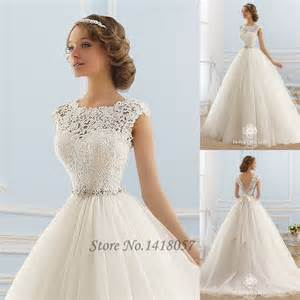 princess gown wedding dress aliexpress buy vintage boho wedding dress princess lace dresses v back applique