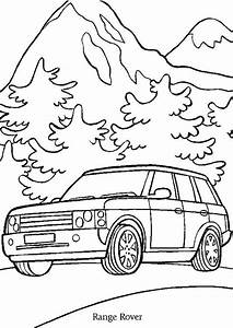 coloriage voiture range rover hugolescargotcom With 2017 range rover sport