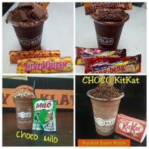 nyoklat super klasik   hot  ice chocolate