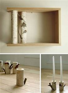 Objet Deco Bois Naturel : objets d co en bois brut le blog de la d coration en ~ Teatrodelosmanantiales.com Idées de Décoration