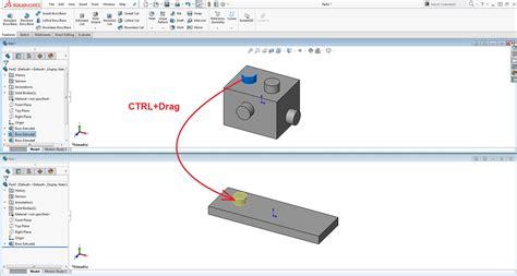 copying solidworks features  parts  assemblies