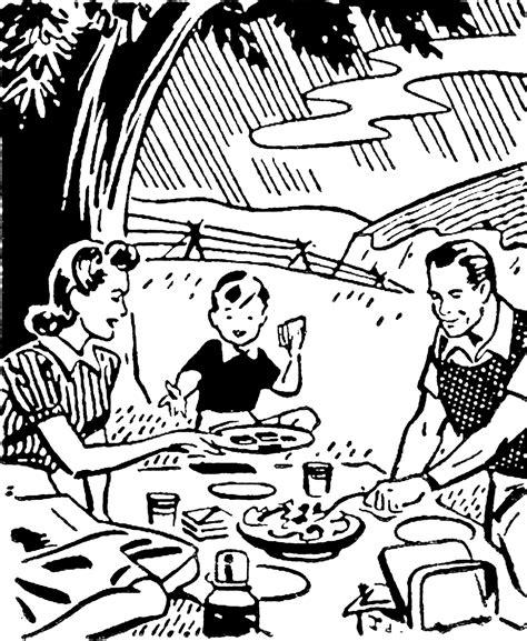 retro images picnic summer drive  graphics fairy