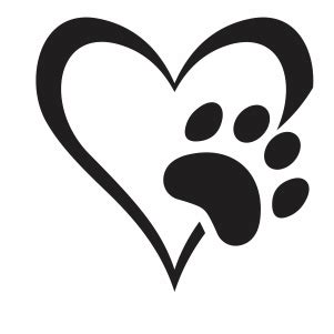 cat paw print svg images  svg files