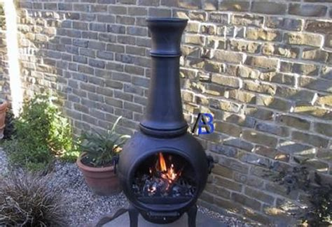 How To Paint A Chiminea