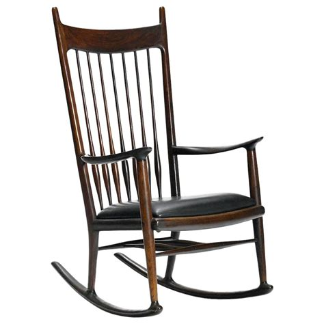 maloof rocking chair auction early rosewood rocking chair by sam maloof for sale