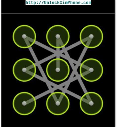bypass screen pattern reset a pattern screen pattern
