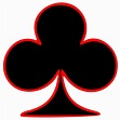 Free Clipart: Outlined Club Playing Card Symbol | GR8DAN