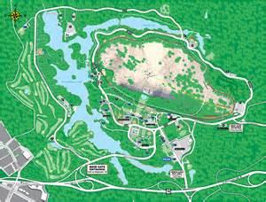 Stone Mountain Georgia Park Map