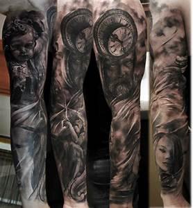 Tatouage Bras Complet Homme : domantas parvainis tattoo artist ~ Dallasstarsshop.com Idées de Décoration
