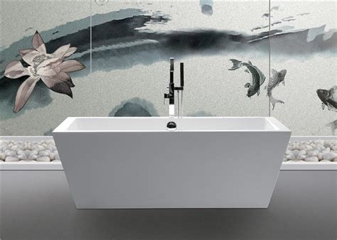 Square Bathtub by Clear Luxury Square Freestanding Bathtub Rectangular