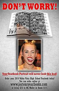 A hilarious yearbook sales poster | Yearbook ideas ...