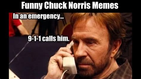 The Absolute Best Chuck Norris Memes