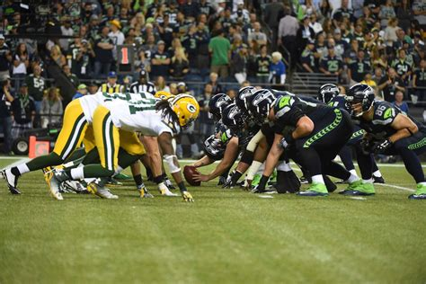 nfl playoff schedule  packers seahawks matchup set