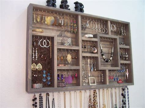 jewelry organizer wall hanging bathroom decor bedroom