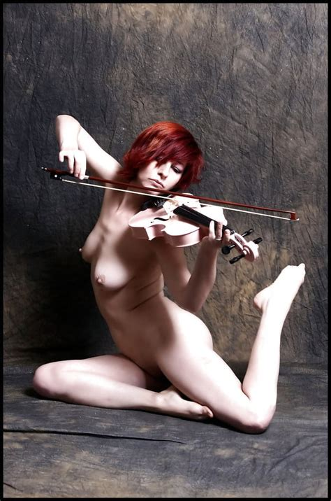 Nude Female Playing Violin Viola Cello Double Bass Octobass Pics XHamster