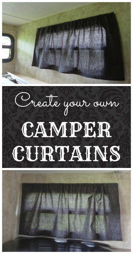 camper window curtains camper windows