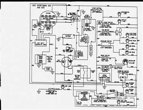 Polari Trailblazer 250 Part Diagram by 2000 Polaris Trailblazer 250 Wiring Diagram