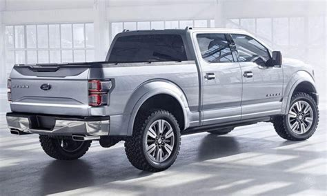ford atlas pickup truck concept    naias