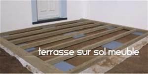 video terrasse composite sur sol meuble With poser une terrasse composite sur sol meuble