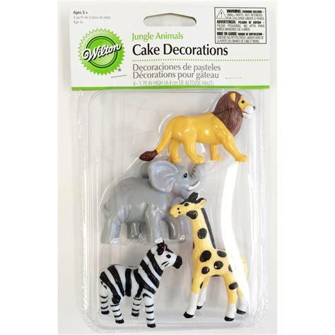 decoration animaux de la jungle wilton d 233 coration pour g 226 teaux animaux de la jungle