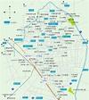 歡迎小江戶川越:小江戶川越的地圖