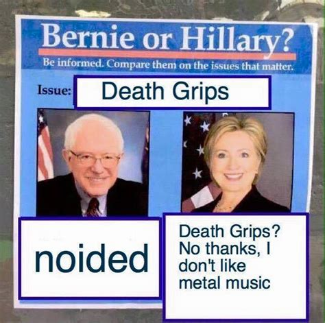 Death Grips Memes - death grips bernie or hillary know your meme