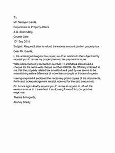 Appeal letter templates 10 free templates in pdf word for Tax dispute letter
