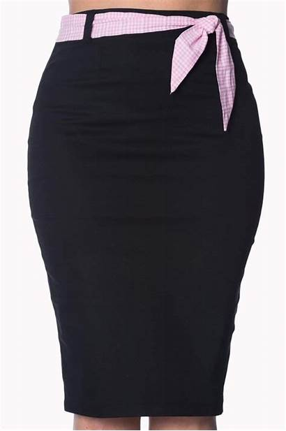 Grease Skirt Pencil Banned Skirts Rockabilly Retro