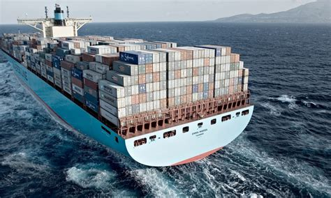 maersk to schedule maersk world s largest container ship on history