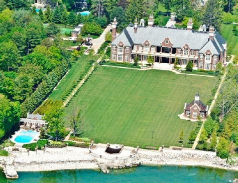 chelster hall   million lakefront mega mansion  ontario canada homes   rich