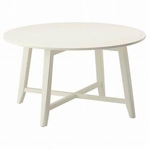 Kragsta Tavolino  Bianco  90 Cm