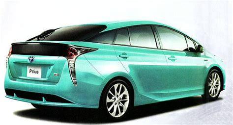 2017 Toyota Prius Leaked By Taiwanese Auto Publication, Is