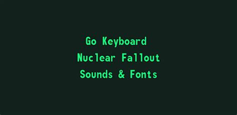 Google docs has just made it possible for users to make a full copy of the document, including comments. Nuclear Fallout Sounds & Fonts - Apps on Google Play