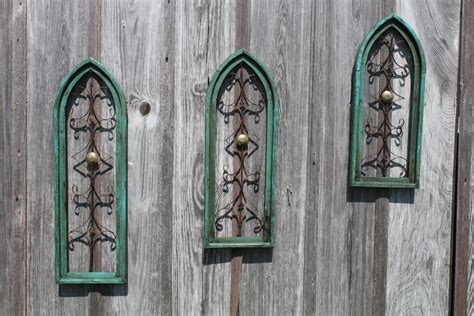 Pictures For Wall Decor by Vintage Wooden Cathedral Wall Wall Decor In 3 Sizes