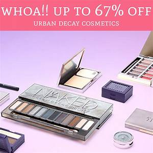 HOT! Up To 67% Off Urban Decay Cosmetics - Deal Hunting Babe