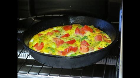 cook eggs in toaster oven healthy breakfast recipe eggs and veggies cooked in the