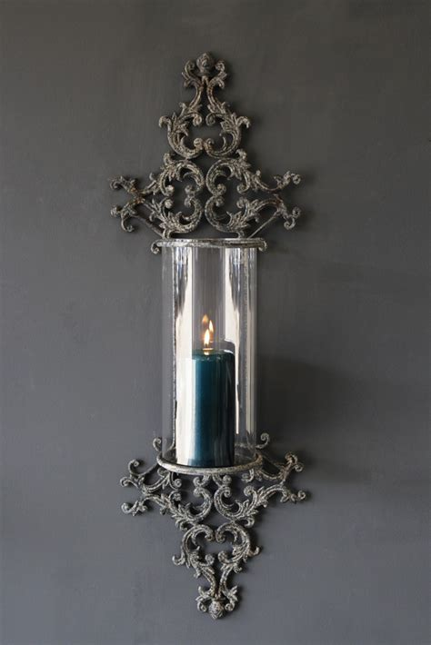 candle wall sconce metal filigran candle wall sconce rockett st george