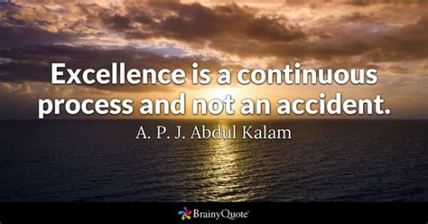 Excellence Quotes Brainyquote