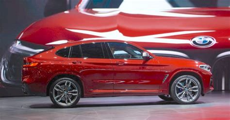 Update Motor Show 2018 : India-bound 2018 Bmw X4 Makes Geneva Motor Show Debut [update]