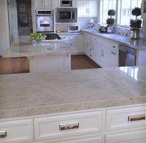 Quartzite Slabs - Traditional - Kitchen - los angeles - by