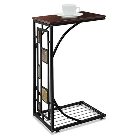 coffee tray side sofa table ottoman couch room console stand  tv lap snack ebay