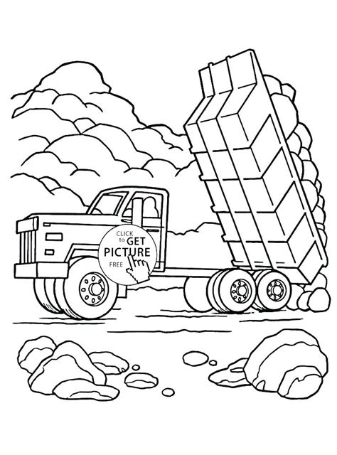 peterbilt coloring pages  getcoloringscom  printable colorings pages  print  color