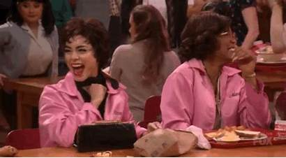 Grease Vanessa Hudgens Laughing Gifs Rizzo Egotistical