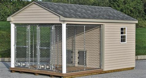 outdoor dog kennel  large dogs